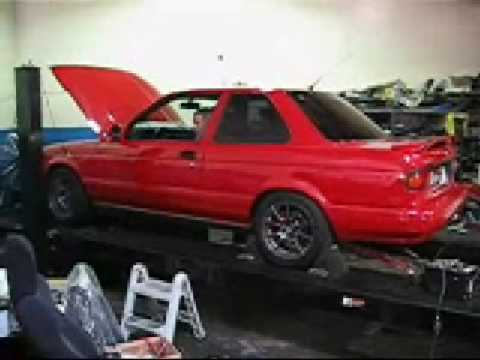 1992 Nissan Sentra SE-R Dyno - YouTube