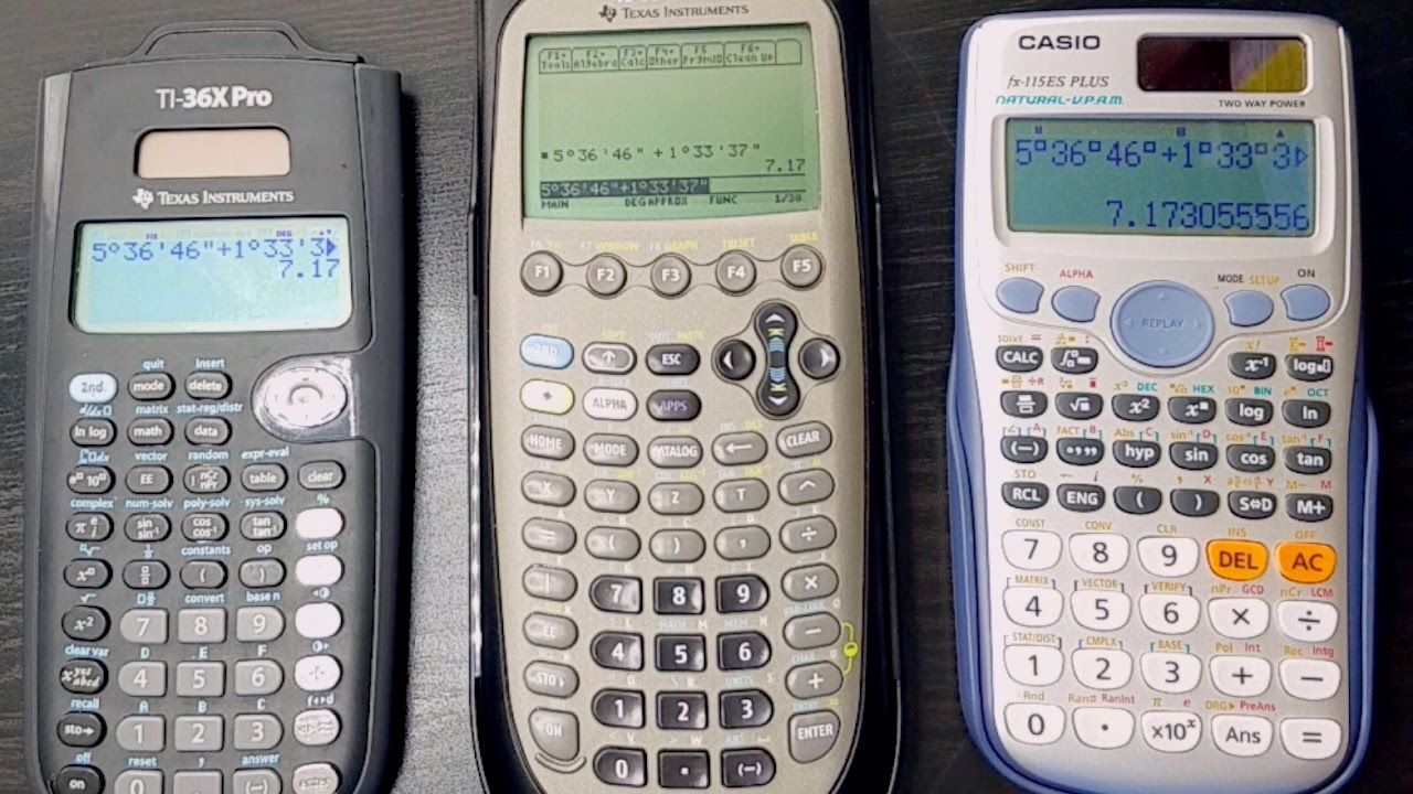 What's the best calculator for the CA Engineering Surveying Exam?