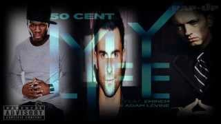 Download 50 Cent - My Life ft. Eminem & Adam Levine MP3 song and Music Video