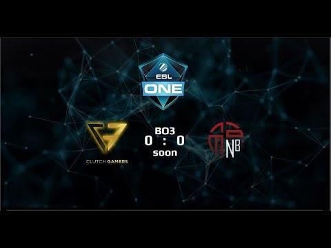 Clutch Gamers vs New Beginning Game 1 (BO3) | ESL Genting 2018 SEA Qualifiers