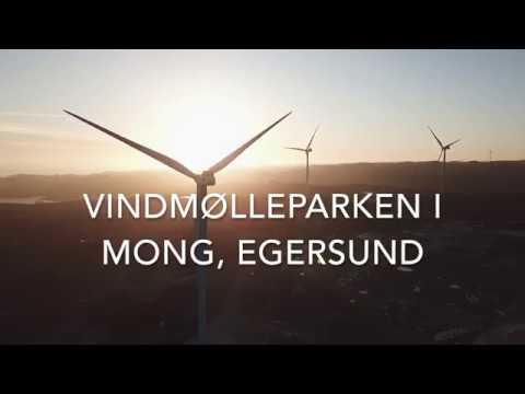 Windmills Norway, Mong Egersund, DJI Mavic Pro