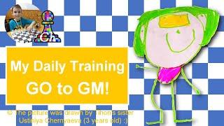 Chess prodigy Tihon. My daily training. GO to GM! LiveStream. 08/01/2020
