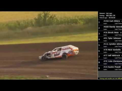 August 11, 2017 - Weekly Racing Series + Stock Car Memorial