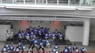 福井大学よっしゃこい2013年度演舞 曲名 「夢光咲」 むこうへ こいや祭...
