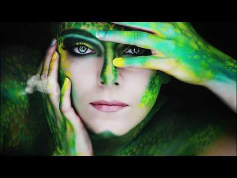 Making Of Airbrush extrem Make Up Exoten Fotoshooting