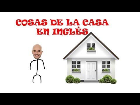 Vocabulario cosas de la casa en ingl s youtube for Cosas del hogar online