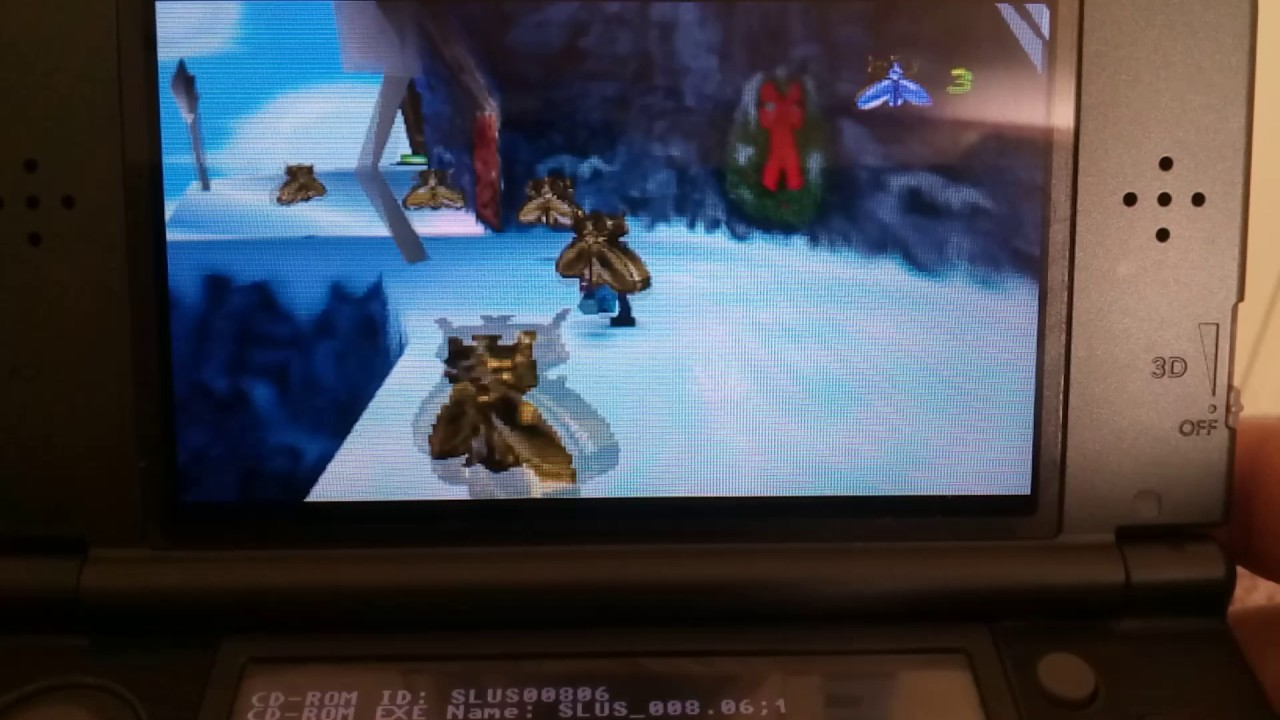 Gex 3 Running on PCSX ReARMed (Retroarch 3DS) by Daluigi208