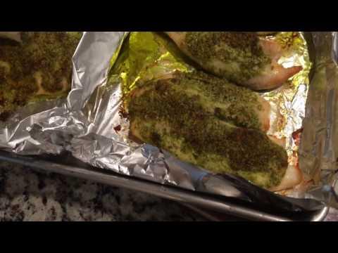 Clean & Delicious Pesto Tilapia