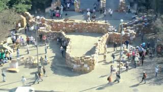 Ut Austin Sets The World Record For Largest University-built Box Castle