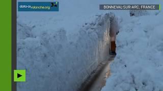 Bonneval-sur-Arc bloqué après une avalanche