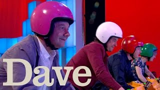 Dara O Briain's Go 8 Bit S1 E6 | Bob Mortimer And Holly Walsh Battle In Lairy Bikers | Dave