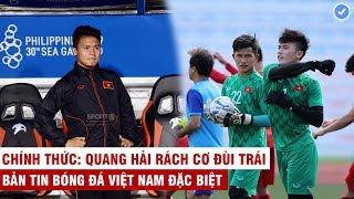 VN Sports (Đặc biệt) | Sốc: Quang Hải nguy cơ nghỉ hết Sea Games, phát hiện gián điệp khi U22 VN tập