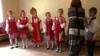 Открытый урок по народному творчеству ДМШ Дивеево 26 сентября 2013 год