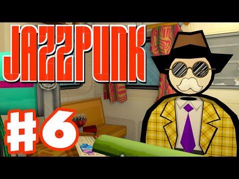 Jazzpunk - Gameplay Walkthrough Part 6 - Final Achievements! (PC Indie Game)