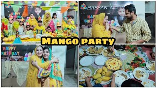 Mango Party Celebration 🎉😍 Summer Special || Cooking with Shabana ♥️