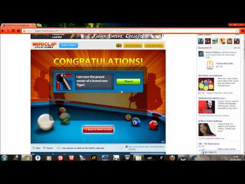 8 Ball Pool -Miniclip New Table Hack! Cheat Engine- Working!!