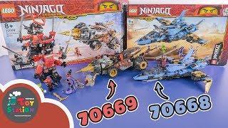 Unbox, review 2 bộ LEGO Ninjago Legacy 2019 tuyệt đẹp 70668 và 70669 ToyStation 361