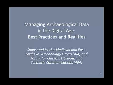 Archaeological Data and Small Projects