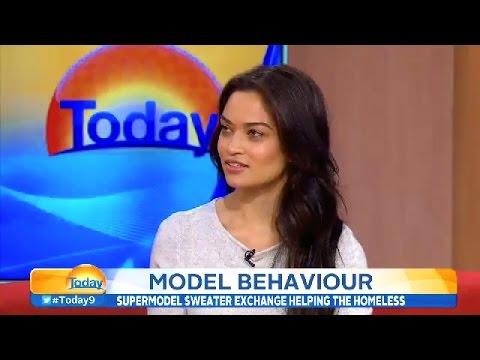 Shanina Shaik's 'Today Show' Interview   July 23, 2014