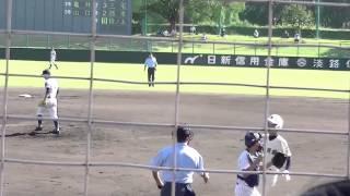 2015秋季高校野球兵庫県大会・準決勝vs加古川東。