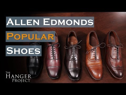 7151e8be6f9d Allen Edmonds Review | Popular Shoe Styles - YouTube