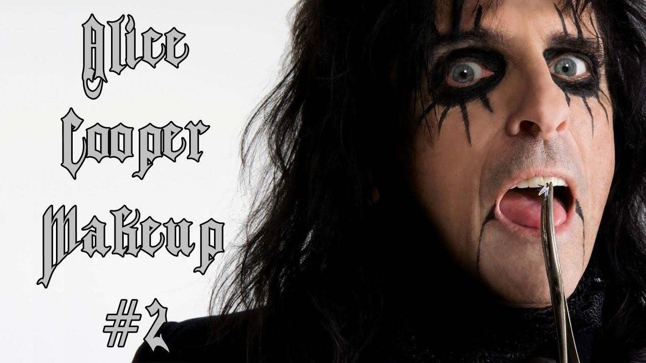 alice cooper makeup 2 s rie cantores youtube. Black Bedroom Furniture Sets. Home Design Ideas