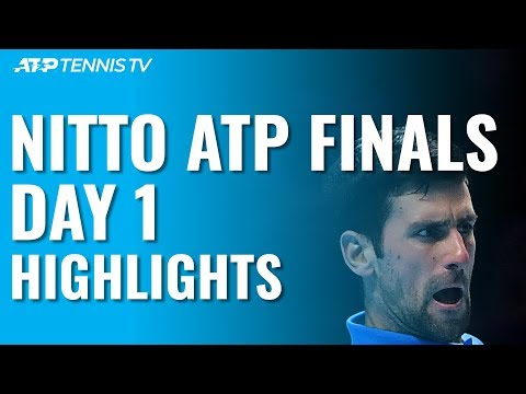 Thiem Defeats Federer; Djokovic Eases Past Berrettini | Nitto ATP Finals 2019 Day 1 Highlights