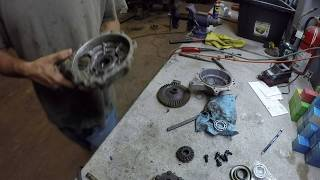 How to rebuild a Honda ATV front differential