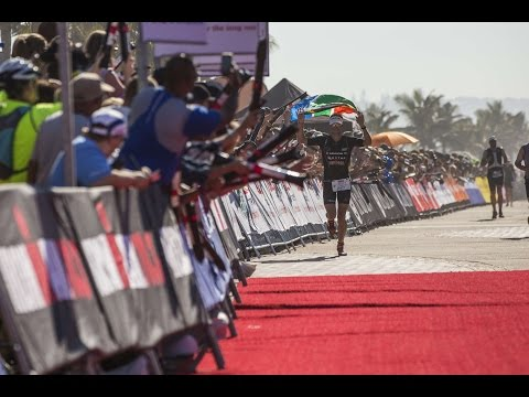 2016 Standard Bank IRONMAN 70.3 Durban Race Day HIghlights