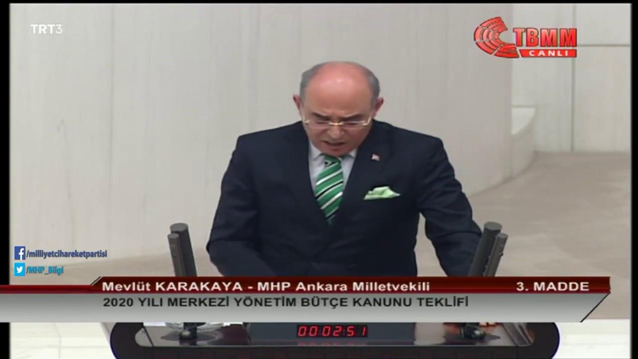 2020 yılı bütçesinin Türk milletine hayırlar getirmesini, hayırlara vesile olmasını diliyorum