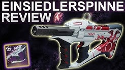 Destiny 2 Forsaken: Die Einsiedlerspinne Review / Waffentest (Deutsch/German)