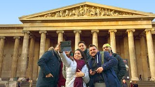 LONDON WALK | The British Museum Plaza and Great Court | England