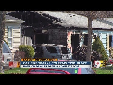 Colerain Twp. home a complete loss after fire