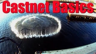 HOW TO Choose a Cast Net for Live Bait CASTNET BASICS