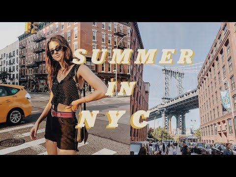summer week in my life nyc | concerts, fourth of july