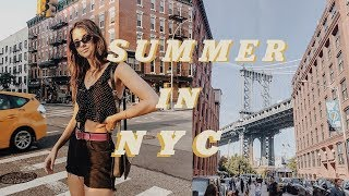 Summer Week In My Life NYC | Working, Concerts, Fourth of July