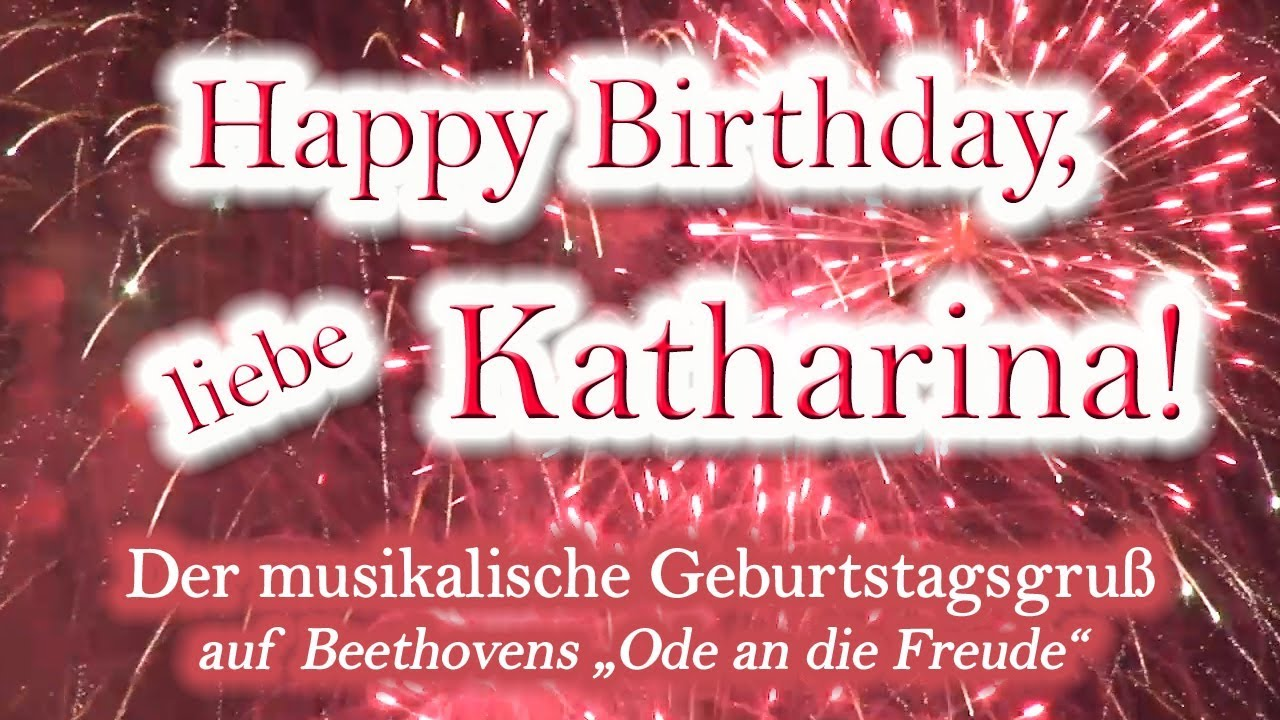 Alles Gute Zum Geburtstag Katharina
