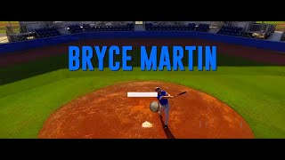Bryce Martin Baseball Skills Video