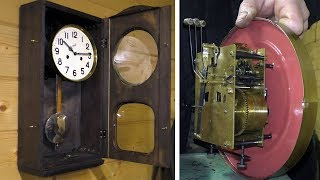 видео Как отремонтировать настенные часы своими руками