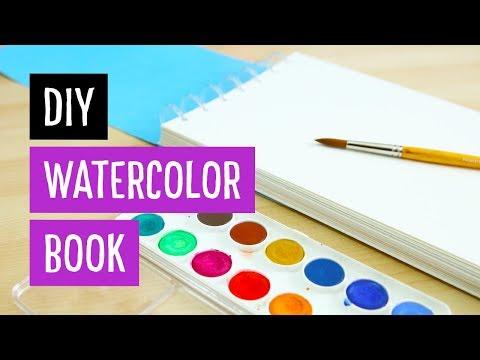 DIY Watercolor Book | Discbound | Sea Lemon