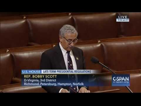 Ranking Member Bobby Scott Speaks in Opposition to H.R. 5982