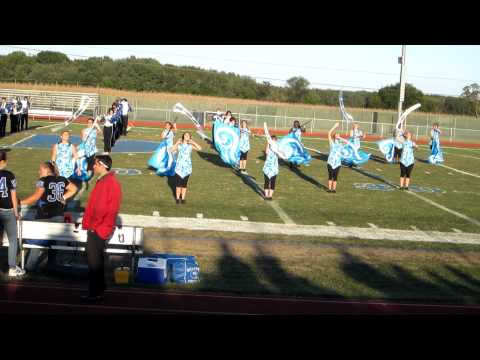 Stephen Decatur High School Marching Band Airblades Homecoming 2011 Don't Stop Believin'
