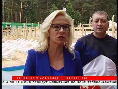 Аквапарк под ёлками: два бассейна открывают в Сосновом бору