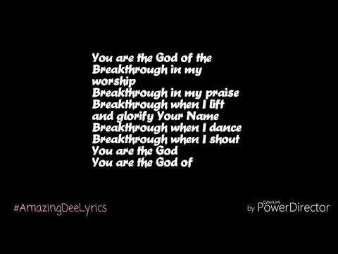 Breakthrough Lyrics-Eddie James