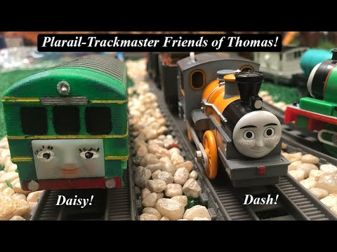 Thomas And Friends Toy Trains-Plarail Trackmaster  Daisy & Dash!