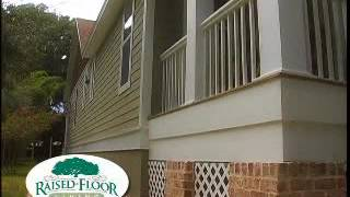 Raised Wood Floor Foundation Advantages