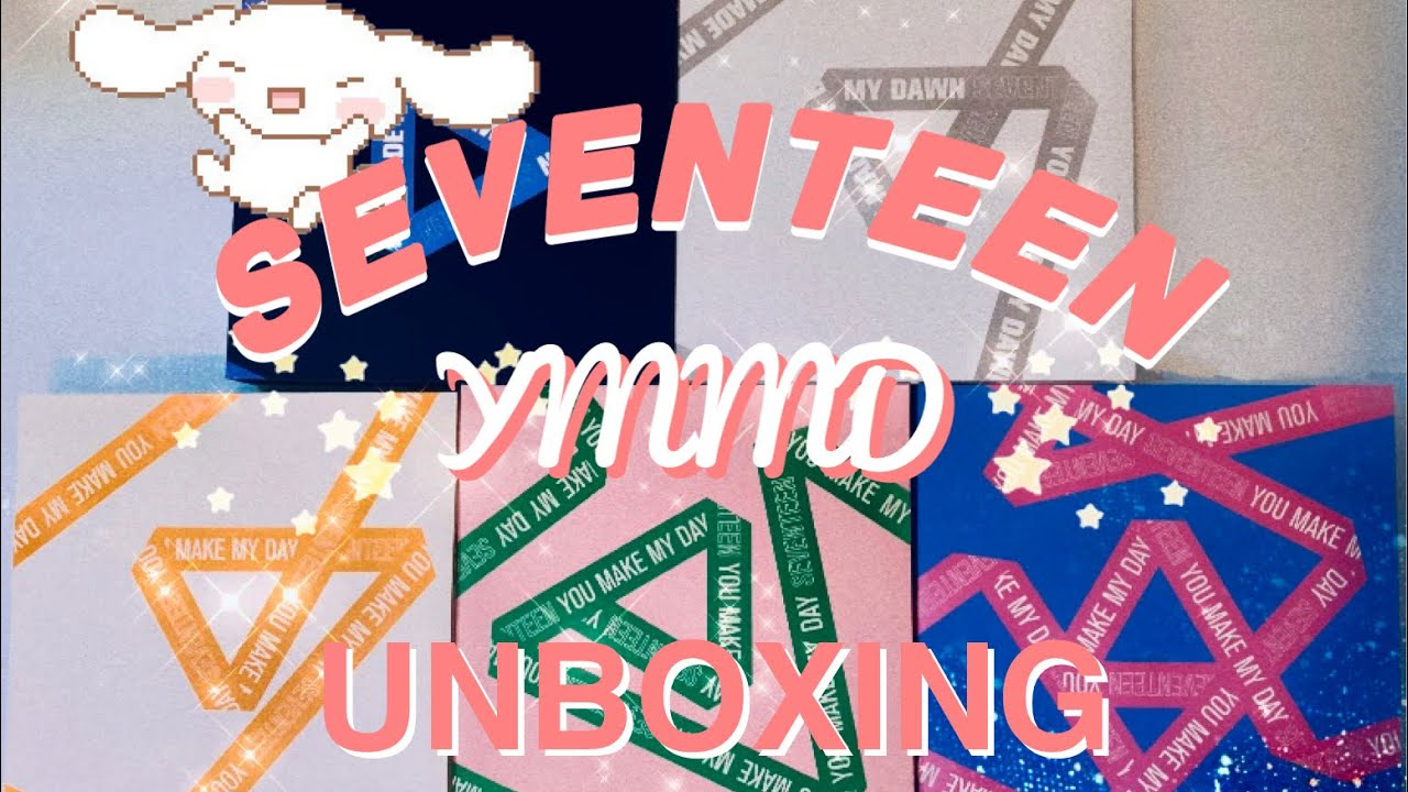 """☆ SEVENTEEN """"you make my day + dawn"""" UNBOXING ☆"""
