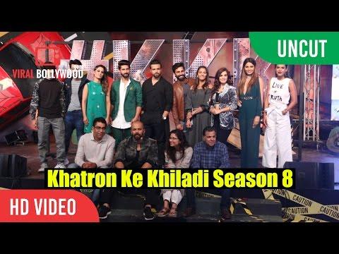 UNCUT - Khatron Ke Khiladi Season 8 Launch   Rohit Shetty, Raj Nayak   Colors TV