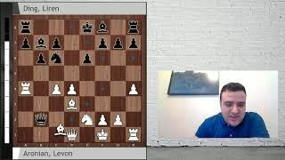 Aronian vs Liren : Berlin Candidatos, Ronda 1 ¡Esto sí que es una locura!
