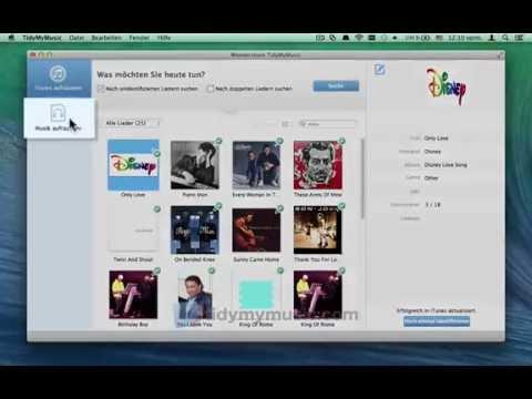 Wie Album Art oder Cover Art Musik Messe für den Mac